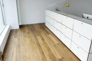 Dielen Neuverlegung USM Eiche Uptown Immobilien Frankfurt