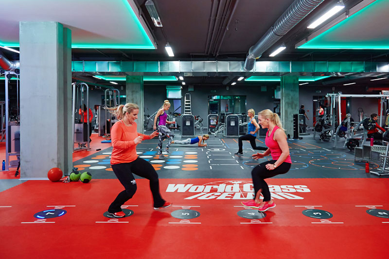Funktionsbereich Powerplay Pavigym