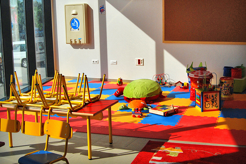 Paviplay Kindergarten weicher Boden