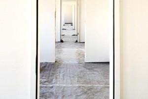Türenmontage im Frankfurter Rathaus
