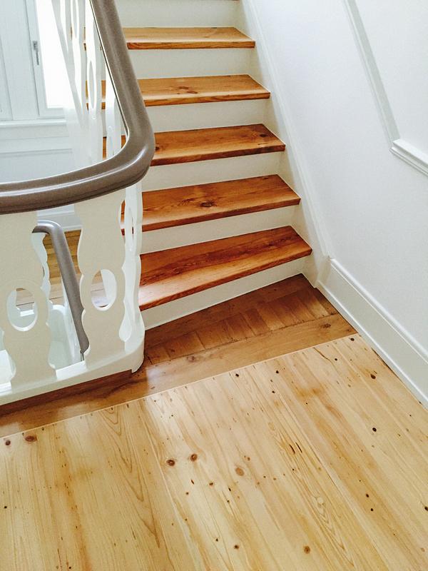 Treppengelander holz aufarbeiten for Treppe aufarbeiten