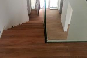 Parkett Neuverlegung - Einfamilienhaus Frankfurt Riedberg