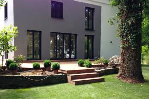Cumaru Holzterrasse Bau Dreieich